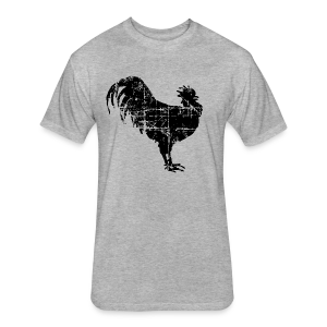 Rooster Premium T-Shirt - Fitted Cotton/Poly T-Shirt by Next Level