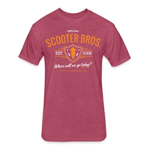 Scooter Bros T-Shirt - Fitted Cotton/Poly T-Shirt by Next Level