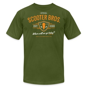 Scooter Bros T-Shirt - Men's T-Shirt by American Apparel