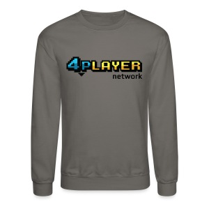 4PlayerNetwork Logo T-Shirt - Crewneck Sweatshirt