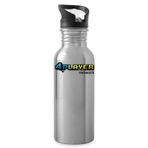 4PlayerNetwork Logo T-Shirt - Water Bottle