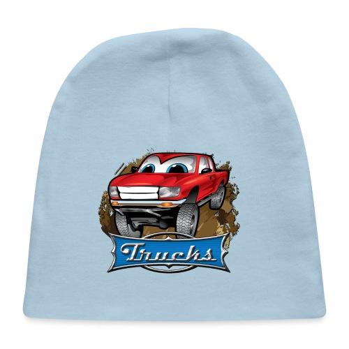 Trucks Movie Cartoon Shirt - Baby Cap