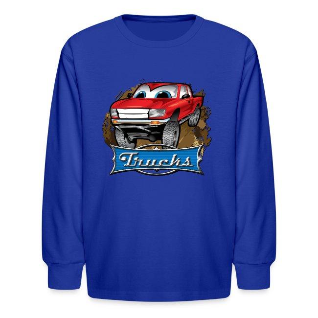 Trucks Movie Cartoon Shirt