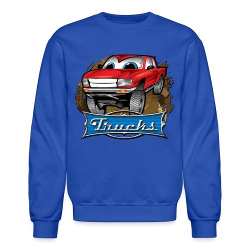Trucks Movie Cartoon Shirt - Crewneck Sweatshirt