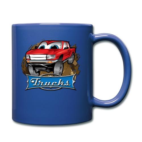 Trucks Movie Cartoon Shirt - Full Color Mug
