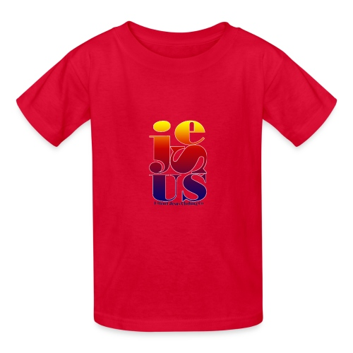 Jesus Printed   - Kids' T-Shirt