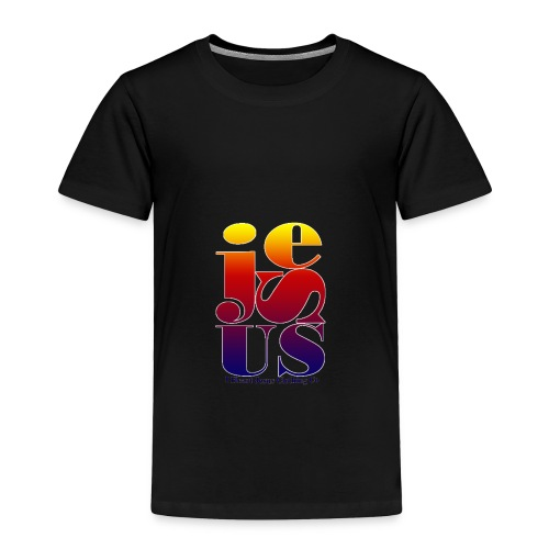 Jesus Printed   - Toddler Premium T-Shirt