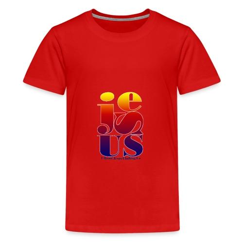 Jesus Printed   - Kids' Premium T-Shirt