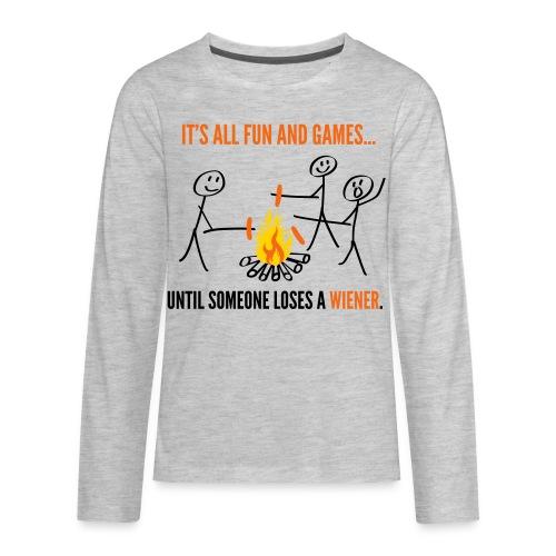 Kids' Premium T-Shirt - Kids' Premium Long Sleeve T-Shirt