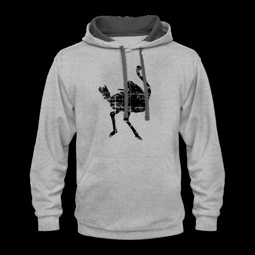Ostrich T-Shirt - Contrast Hoodie