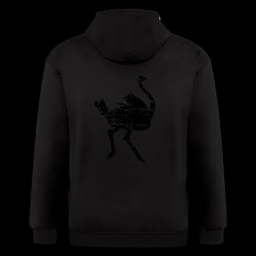 Ostrich T-Shirt - Men's Zip Hoodie