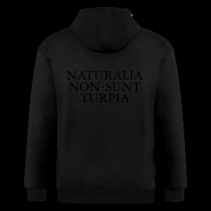 Naturalia Non Sunt Turpia S-5X T-Shirt - Men's Zip Hoodie