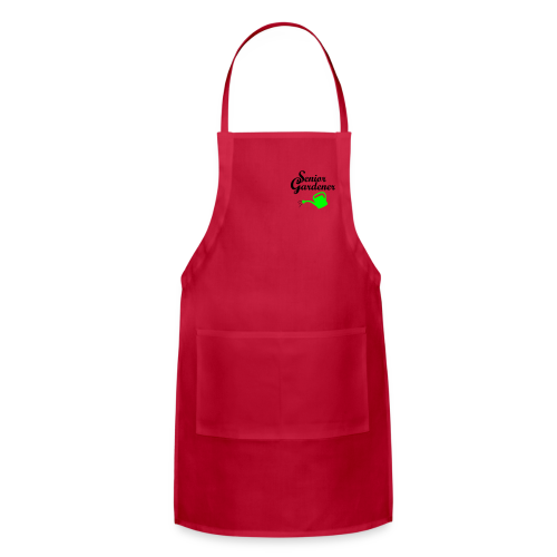 Senior Gardener T-Shirt - Adjustable Apron