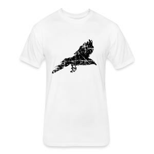 Raven T-Shirt - Fitted Cotton/Poly T-Shirt by Next Level
