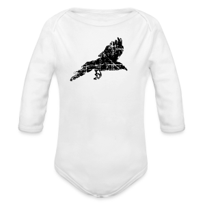 Raven T-Shirt - Long Sleeve Baby Bodysuit