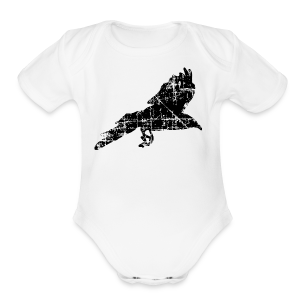 Raven T-Shirt - Short Sleeve Baby Bodysuit