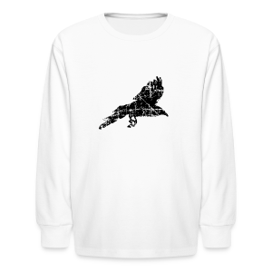 Raven T-Shirt - Kids' Long Sleeve T-Shirt