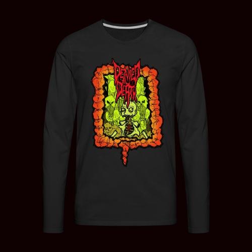 Brainrotten T-Shirt - Men's Premium Long Sleeve T-Shirt