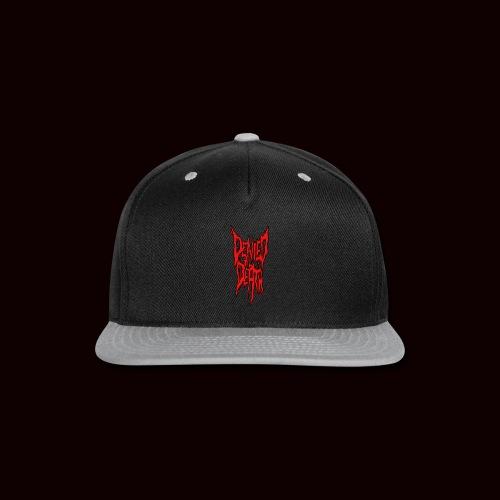 DTD Logo T-Shirt - Snap-back Baseball Cap