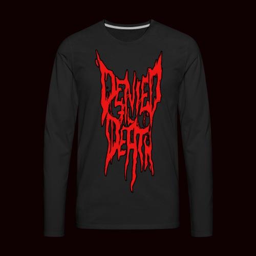 DTD Logo T-Shirt - Men's Premium Long Sleeve T-Shirt