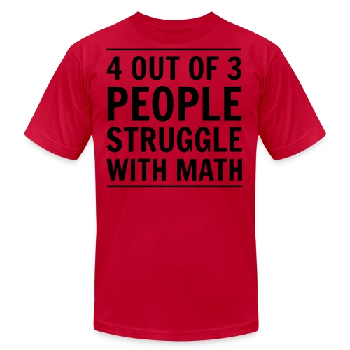 MathStruggle - Men's Fine Jersey T-Shirt
