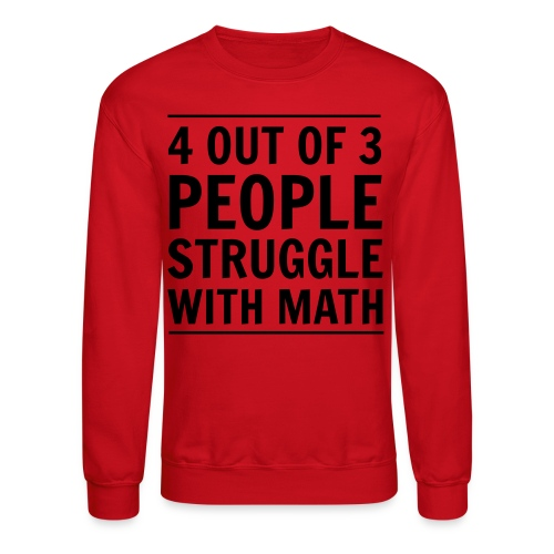 MathStruggle - Crewneck Sweatshirt