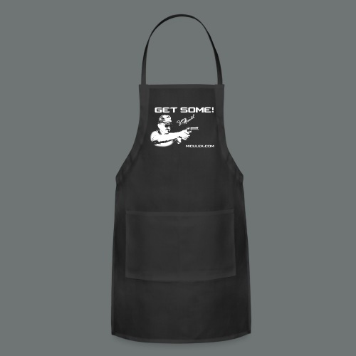 GET SOME! Jerry Miculek signature T-shirt - Adjustable Apron