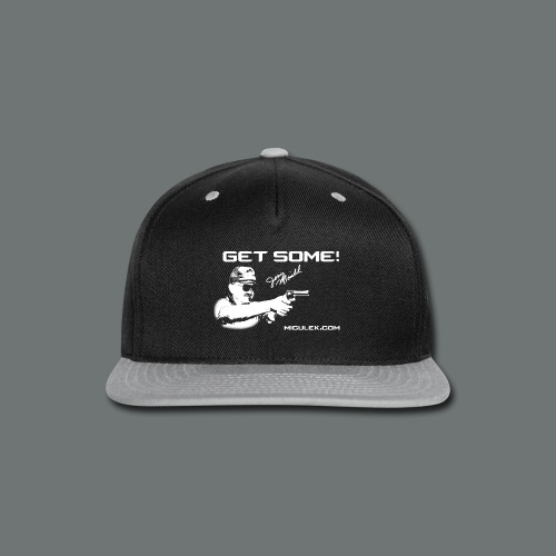GET SOME! Jerry Miculek signature T-shirt - Snap-back Baseball Cap
