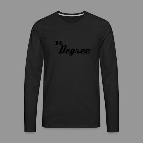 3rd Degree Hat - Men's Premium Long Sleeve T-Shirt