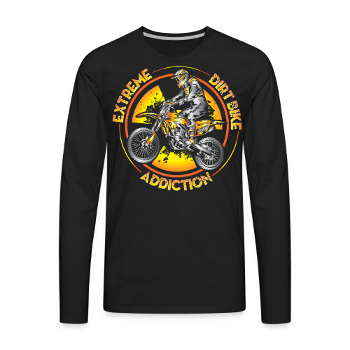 Extreme Motocross Sports - Men's Premium Long Sleeve T-Shirt