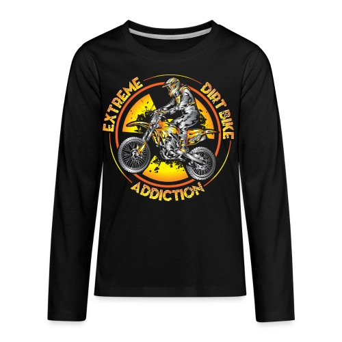 Extreme Motocross Sports - Kids' Premium Long Sleeve T-Shirt
