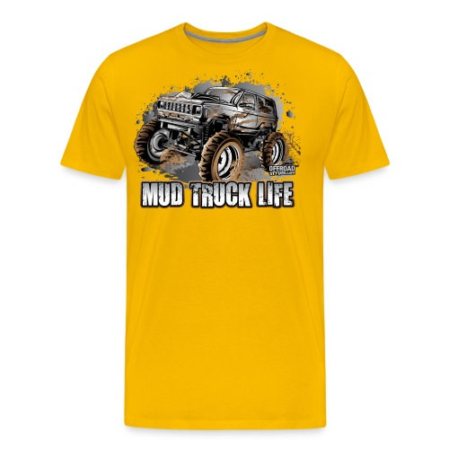 Mud Truck Life - Men's Premium T-Shirt
