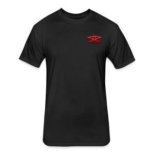 Some Awesome Logo - Fitted Cotton/Poly T-Shirt by Next Level