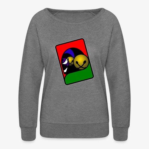 WHP 2.25 Buttons - Women's Crewneck Sweatshirt
