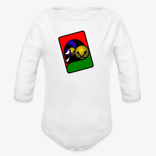 WHP 2.25 Buttons - Organic Long Sleeve Baby Bodysuit
