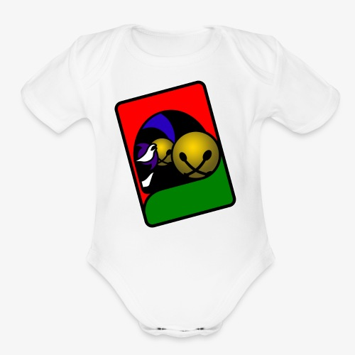WHP 2.25 Buttons - Organic Short Sleeve Baby Bodysuit