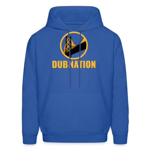 Dub Nation Bay Bridge - Men's Hoodie