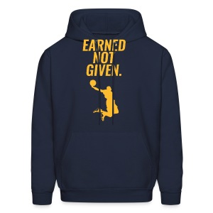 Earned Not Given - Lebron James - Men's Hoodie