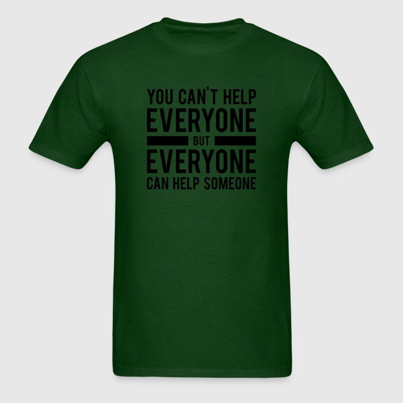 Everyone can Help - Men's T-Shirt
