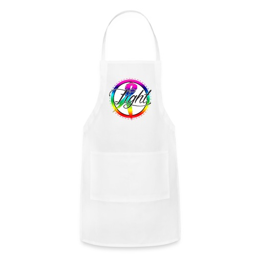 56mm Sized Cancer Awareness Button - Adjustable Apron