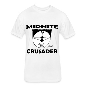 Midnite Crusader Men's T-shirt - Fitted Cotton/Poly T-Shirt by Next Level