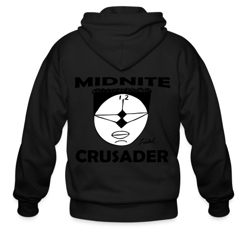 Midnite Crusader Men's T-shirt - Men's Zip Hoodie