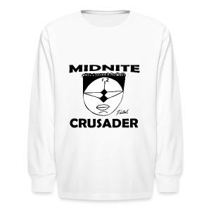 Midnite Crusader Men's T-shirt - Kids' Long Sleeve T-Shirt