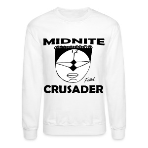 Midnite Crusader Men's T-shirt - Crewneck Sweatshirt