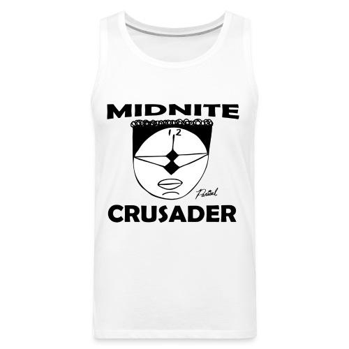 Midnite Crusader Men's T-shirt - Men's Premium Tank