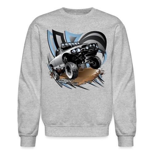 Trophy Truck Grey - Crewneck Sweatshirt
