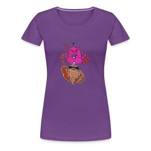 Women's Hoodie - Angry Freddy - Women's Premium T-Shirt