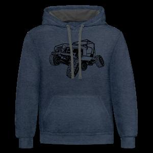 Off-Road Sport Jeep - Contrast Hoodie