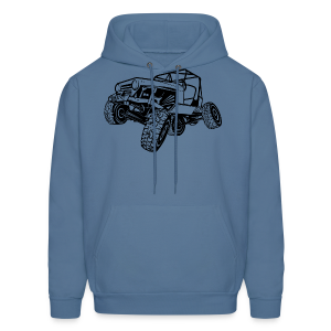Off-Road Sport Jeep - Men's Hoodie