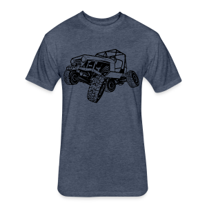 Off-Road Sport Jeep - Fitted Cotton/Poly T-Shirt by Next Level